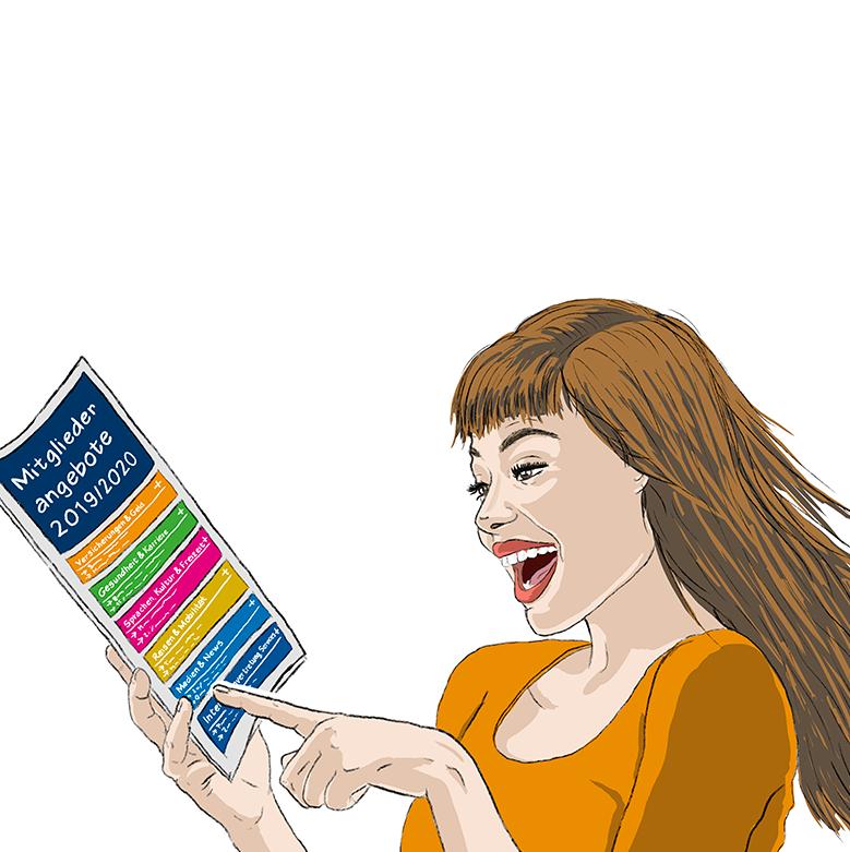 Illustration Angebote FH SCHWEIZ